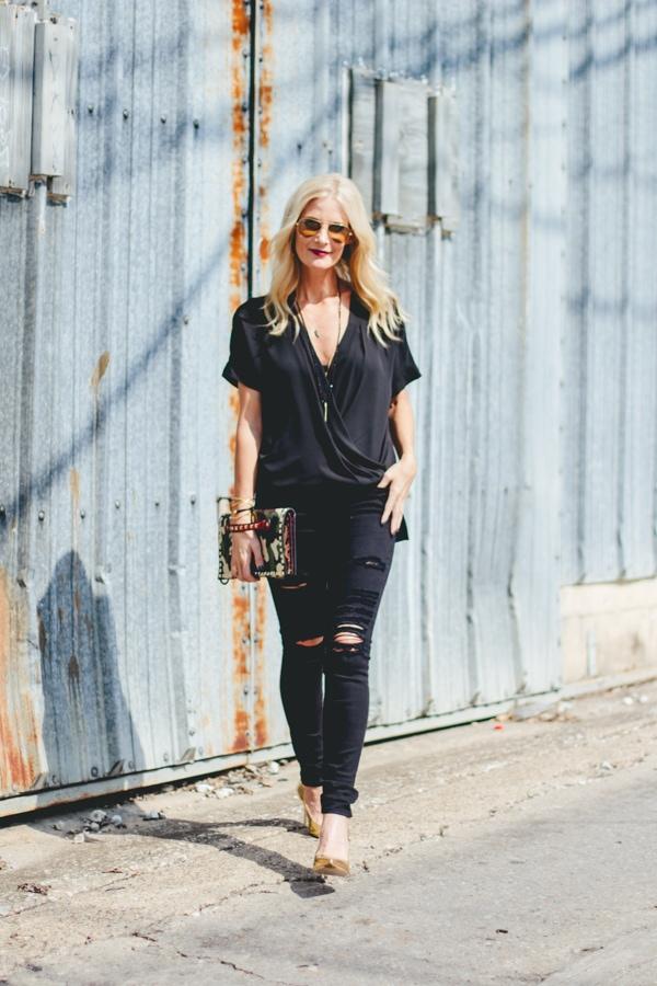 Black Frame Denim Jeans1