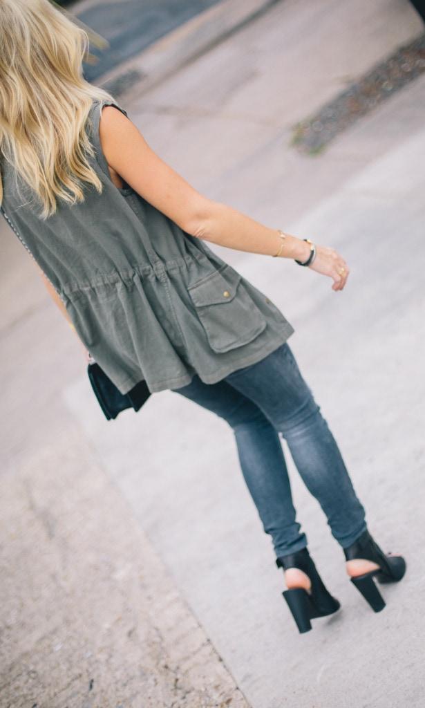 Green Army Vest 1
