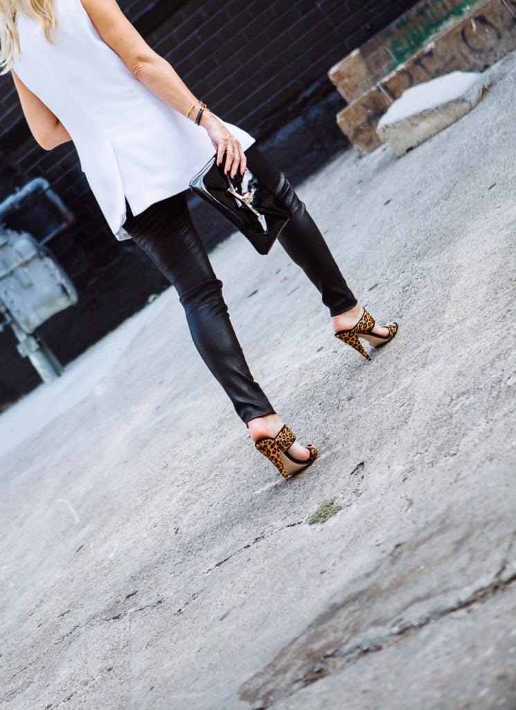 Black leather pants 4