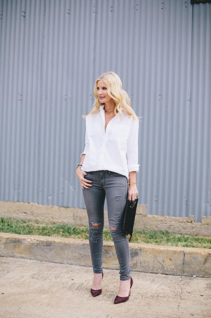 Gray Frame denim jeans 10