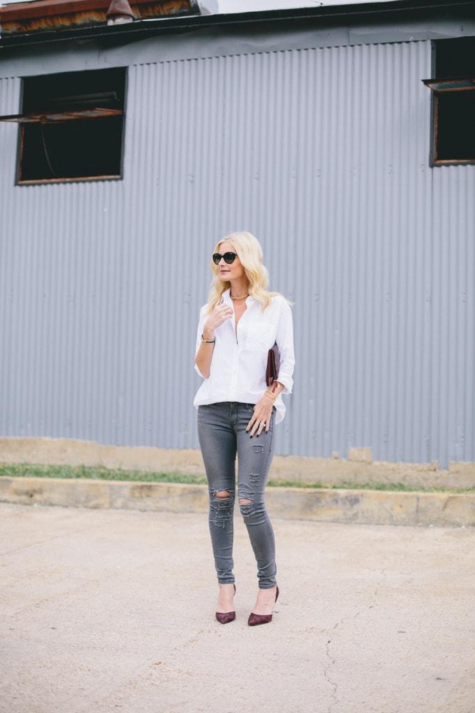 Gray Frame denim jeans 2