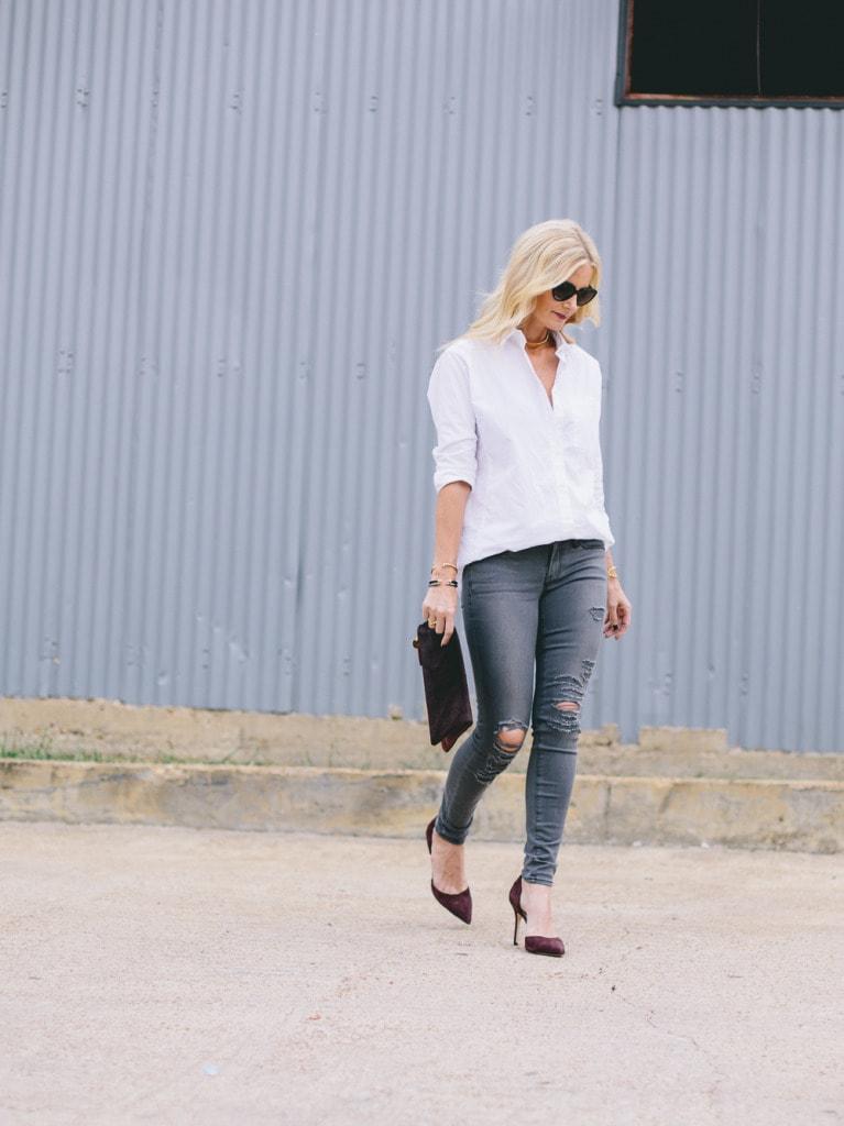 Gray Frame denim jeans 4