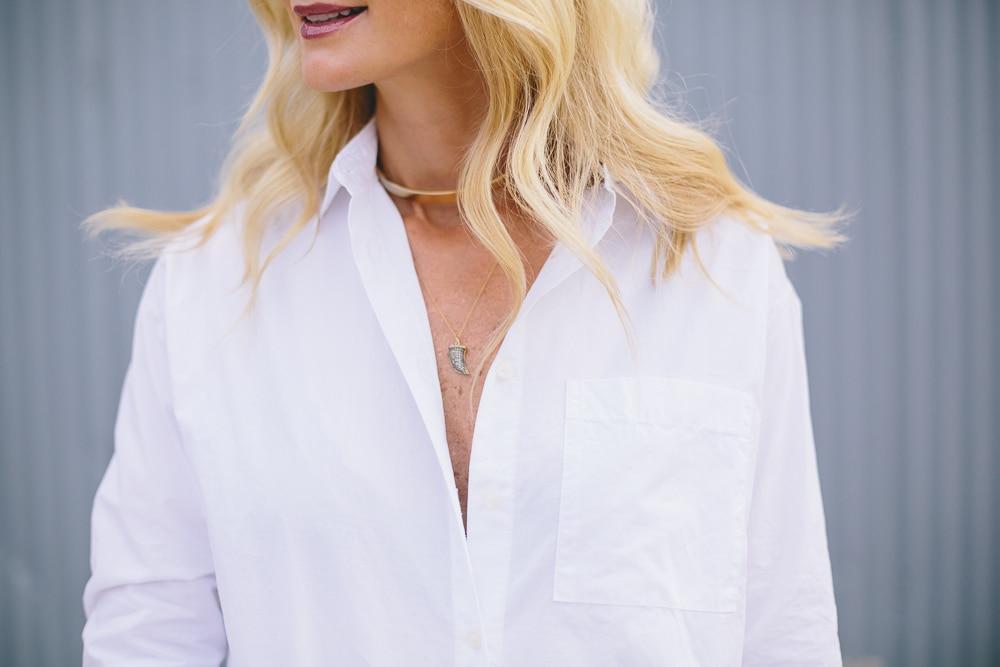 The Perfect White Shirt