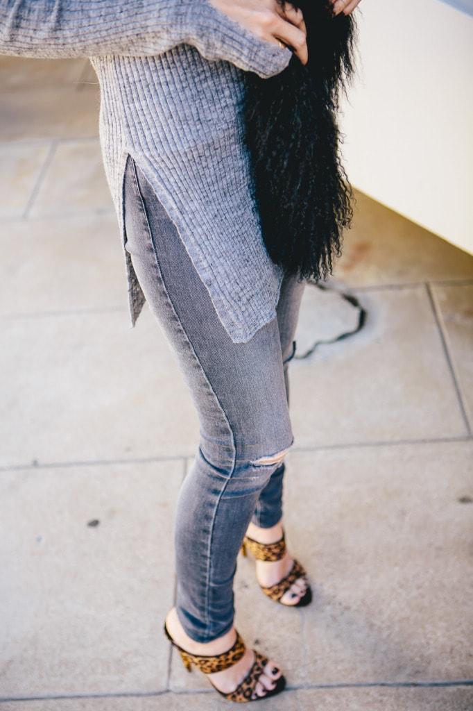 Zara gray sweater 4