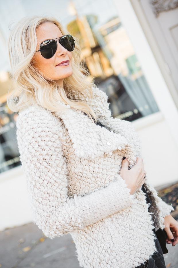 Cream Iro Sweater Jacket 13