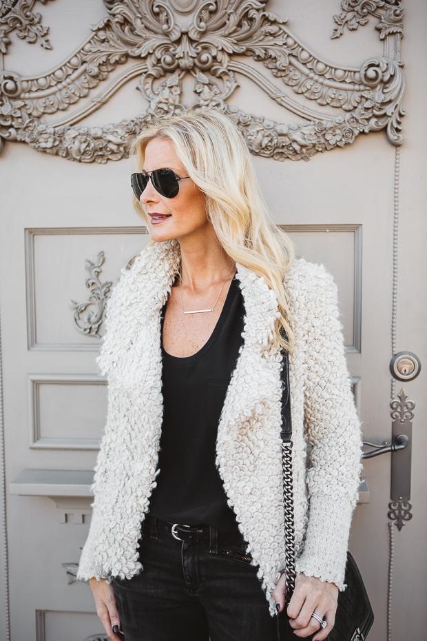 Cream Iro Sweater Jacket 5