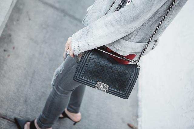 iro gray leather jacket 9