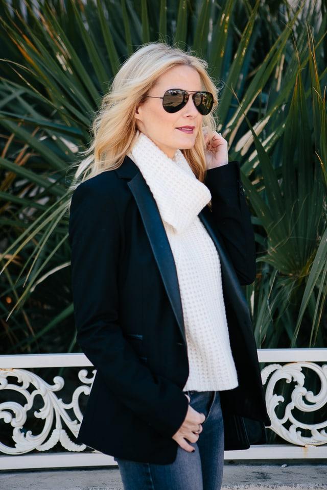 Zara Black Blazer 1