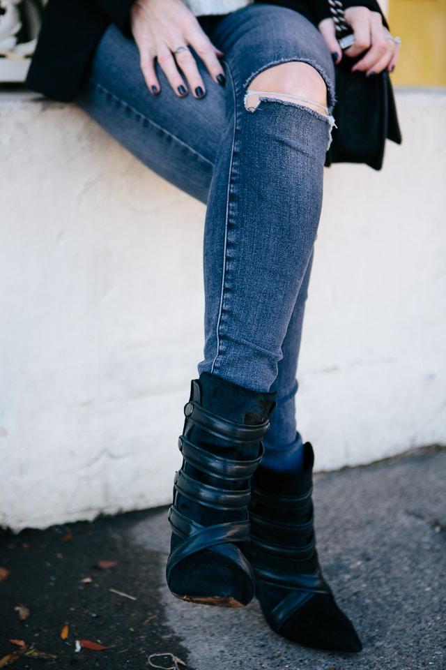 Zara Black Blazer 3