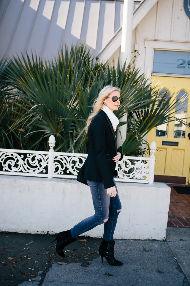 Zara Black Blazer 4