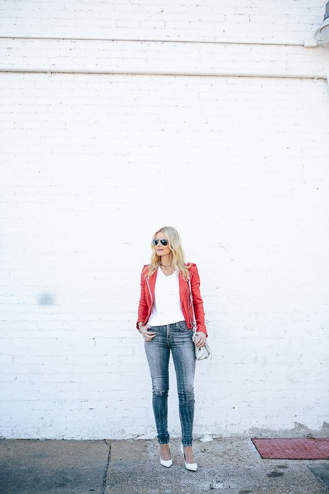 iro red leather jacket 2