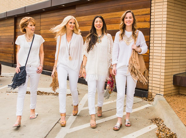 Chic at Every Age – All White