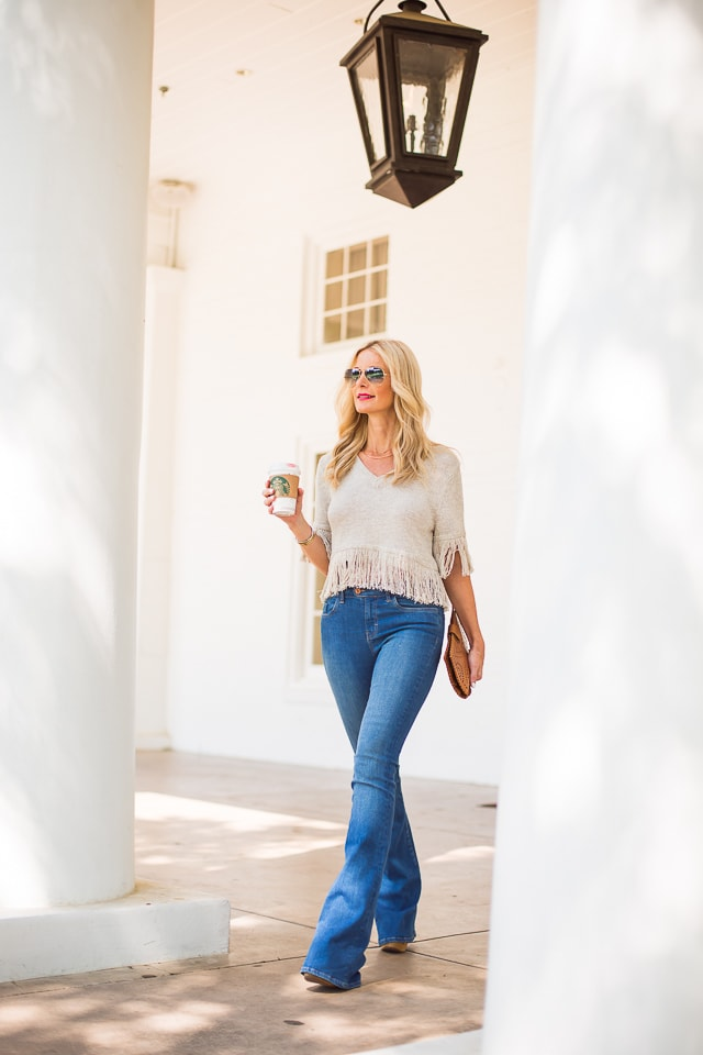 MIH high rise flare jeans 5