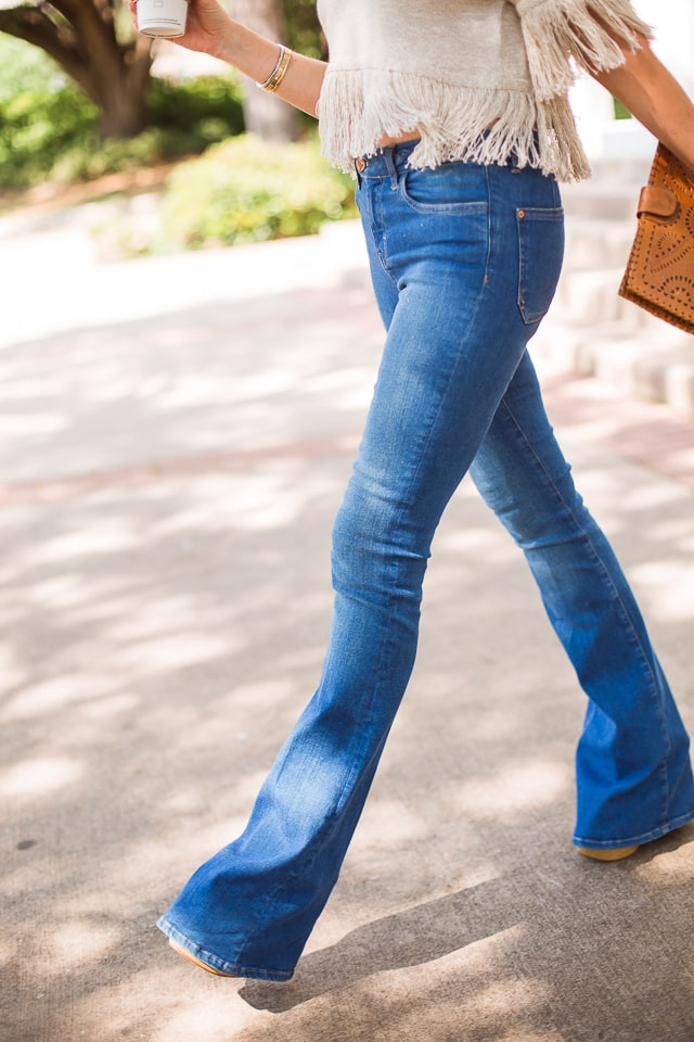 MIH high rise flare jeans 6