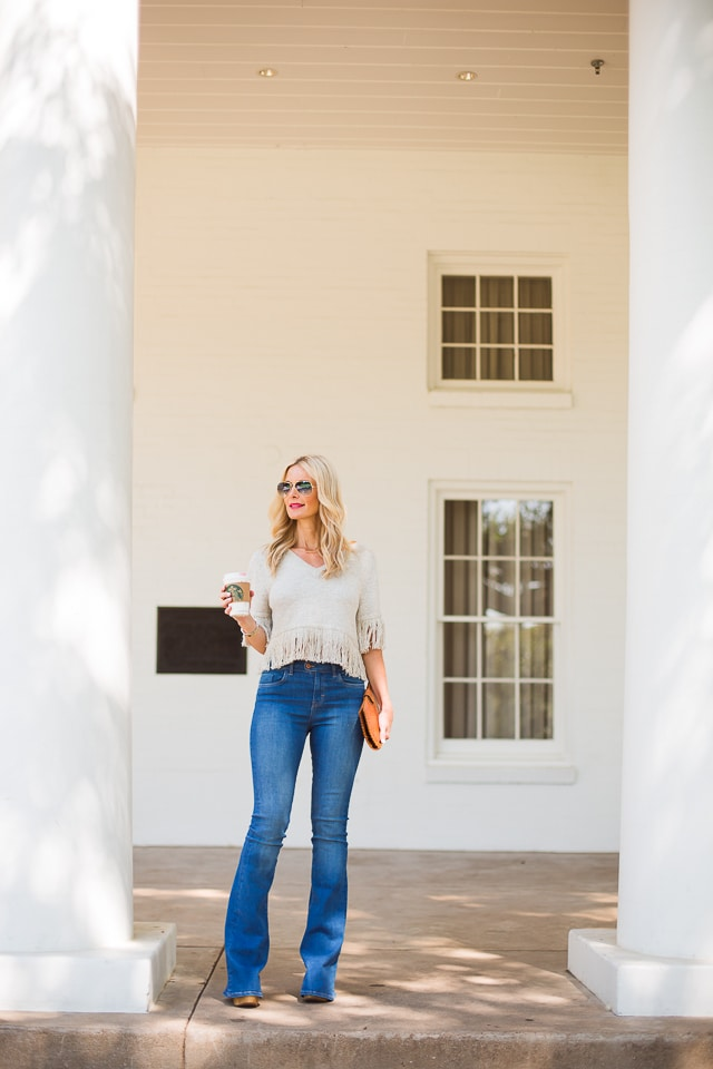 MIH high rise flare jeans 8