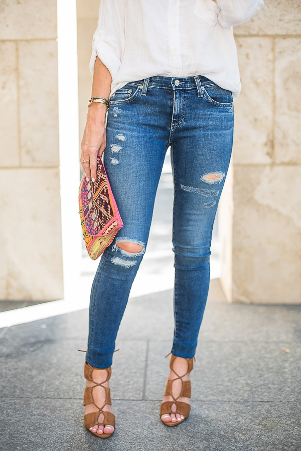 ag ripped jeans 16