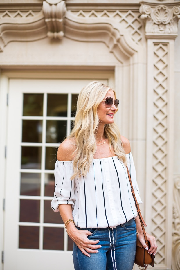faithfull brand off the shoulder top 5