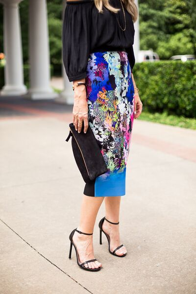 floral pencil skirt 22