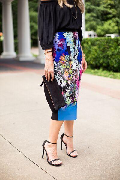 floral pencil skirt 22