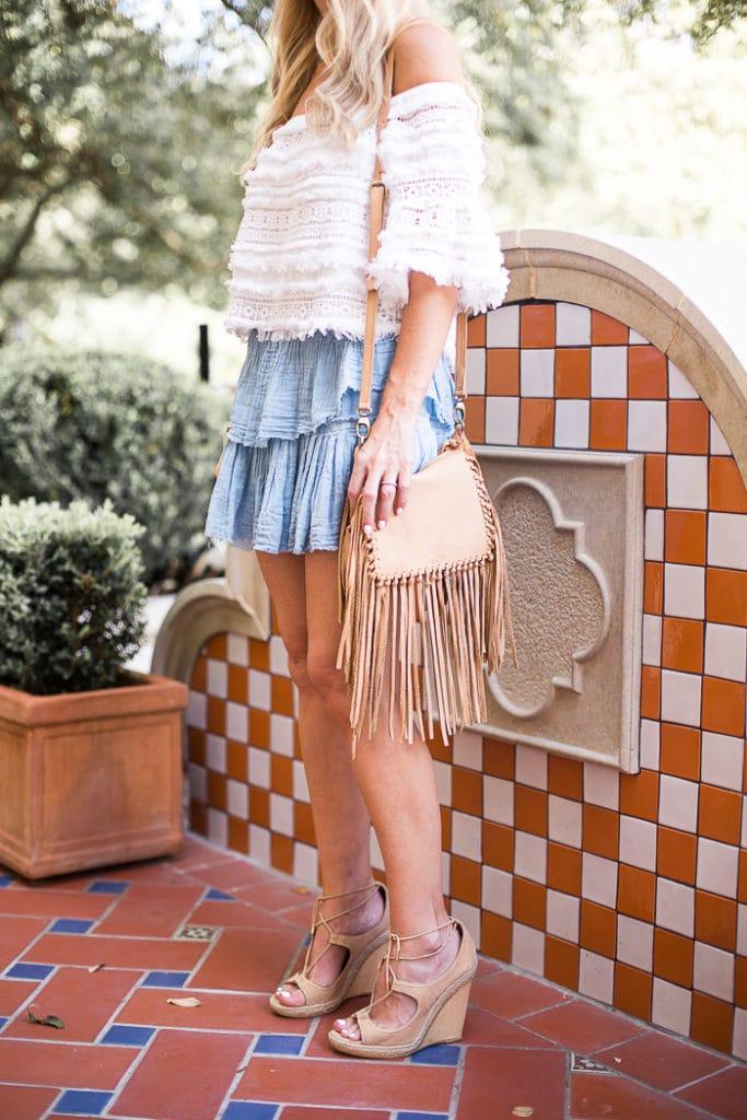 love shack fancy mini skirt 2