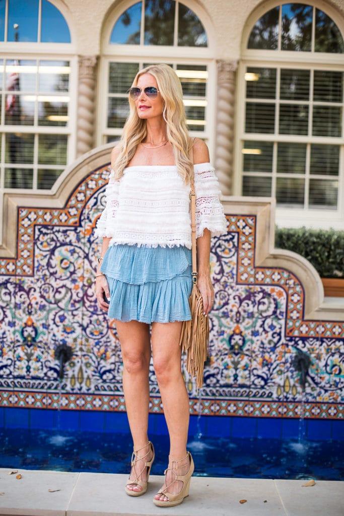 love shack fancy mini skirt 4