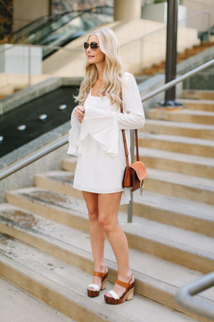 Stone cold fox white dress 1
