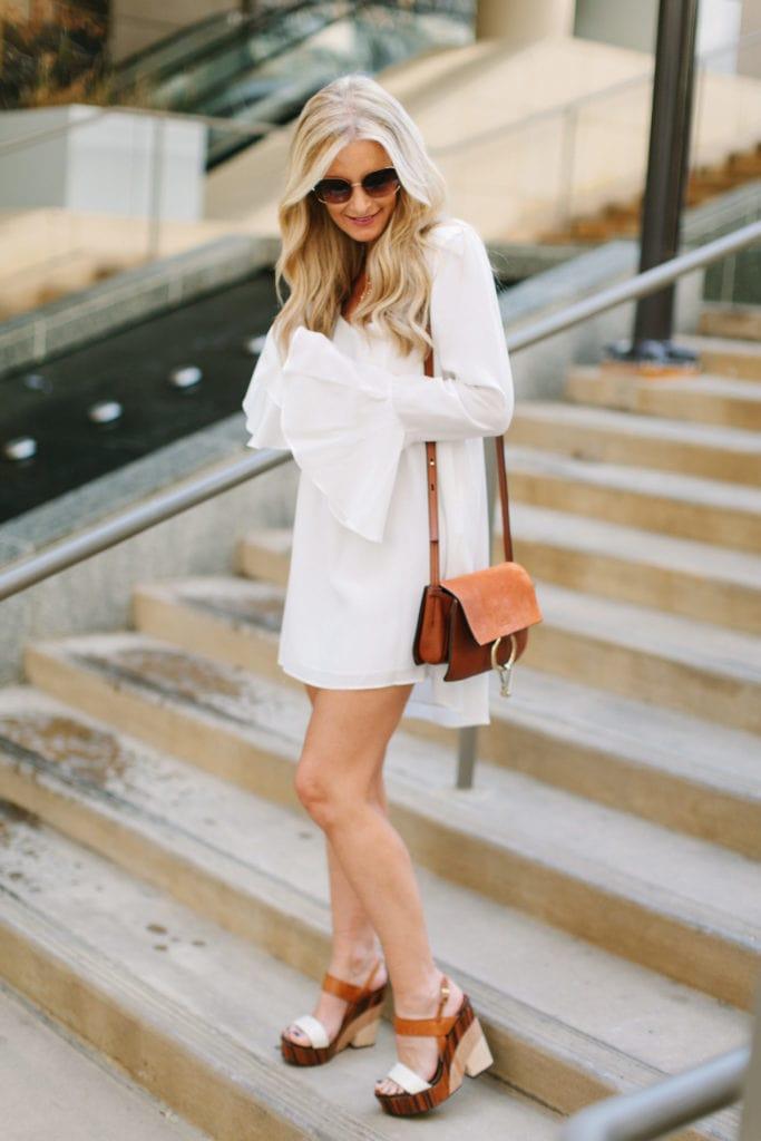 Stone cold fox white dress 3