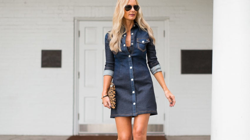 CHIC AT EVERY AGE – THE DENIM DRESS