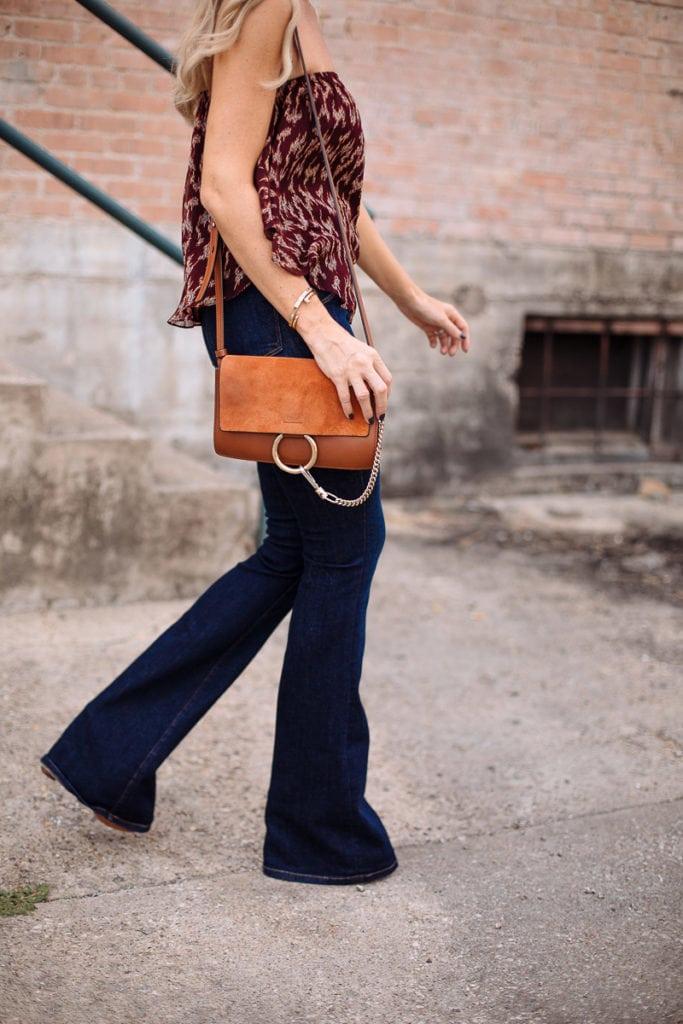 frame denim flare jeans 16