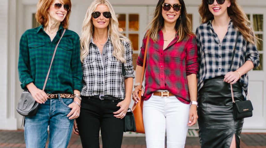 Chic at Every Age Featuring The Holiday Plaid Shirt