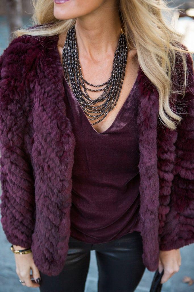 H brand fur jacket 3