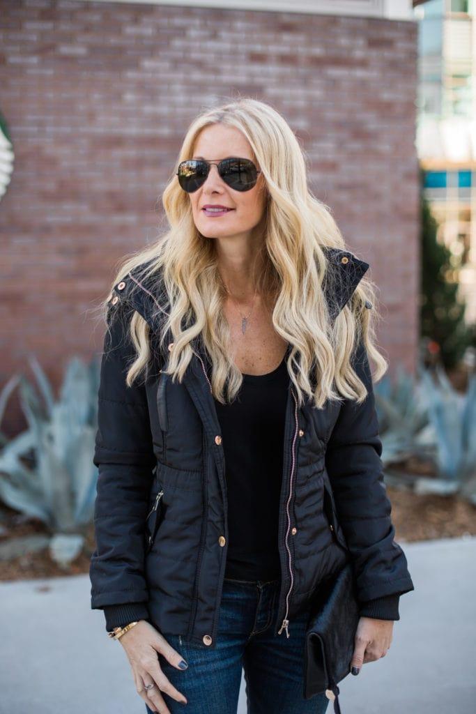 black puffer jacket 3