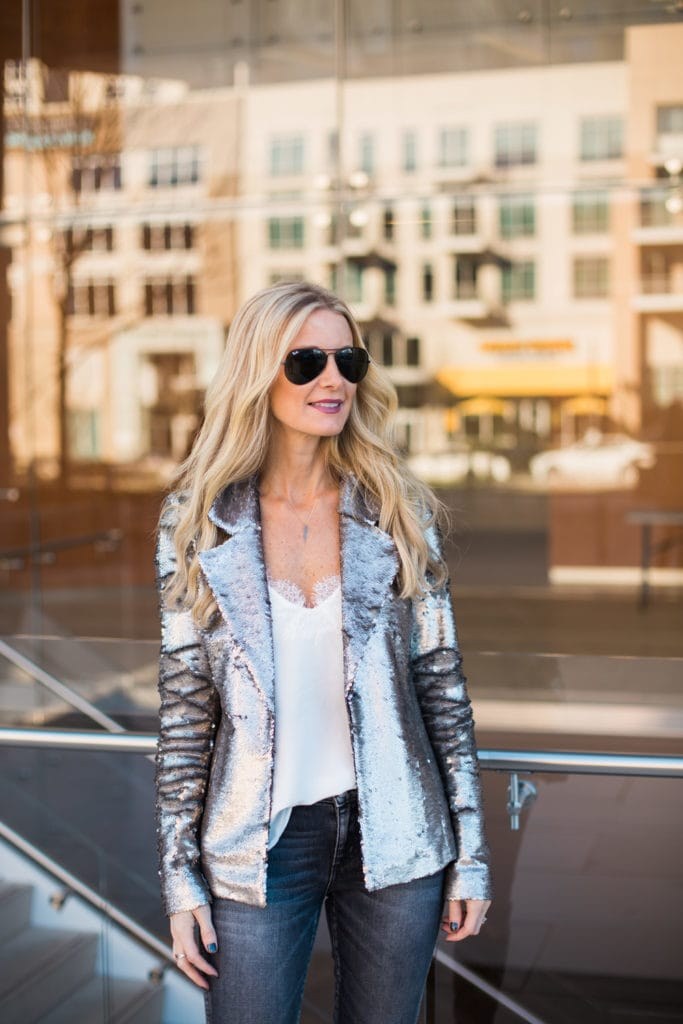 sequin blazer 1