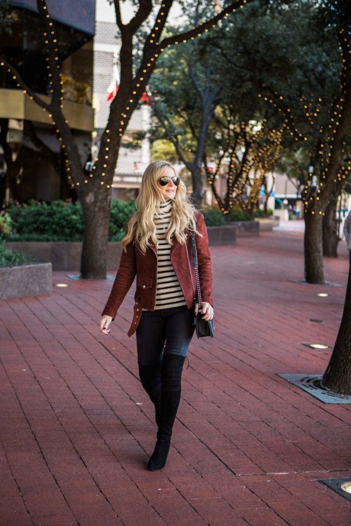 veda burgundy suede jacket 5