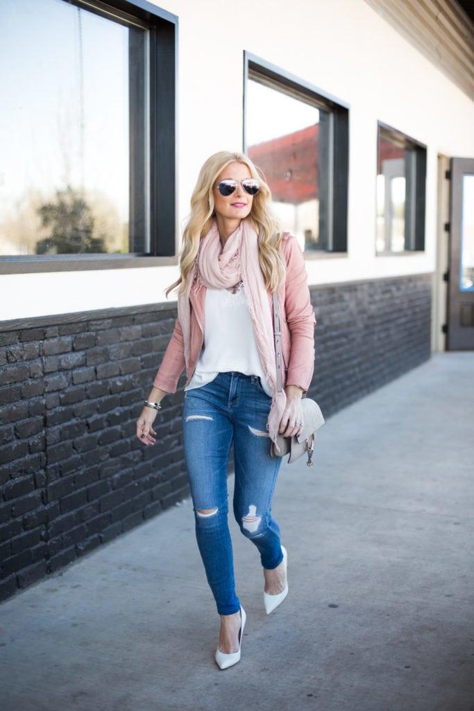 iro pink leather jacket 2