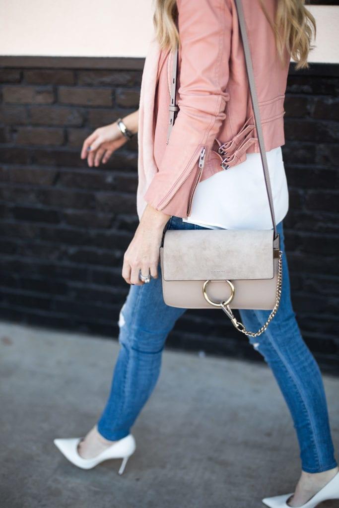 iro pink leather jacket 3