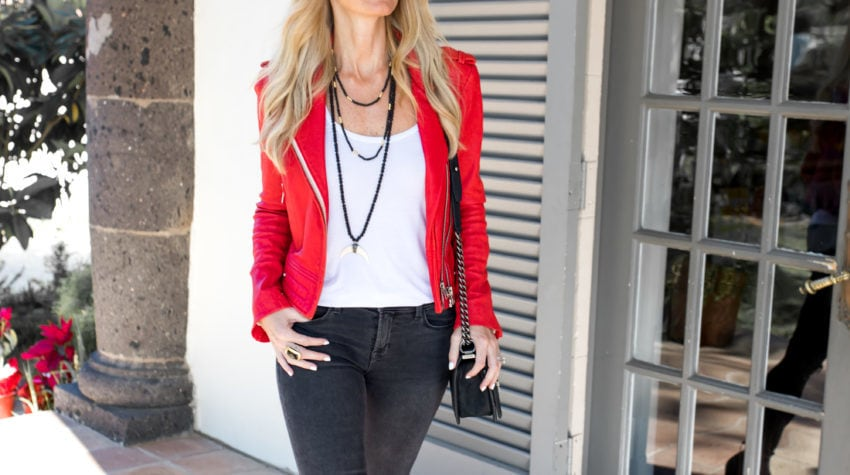'STREET EDIT' featuring The Red Leather Jacket