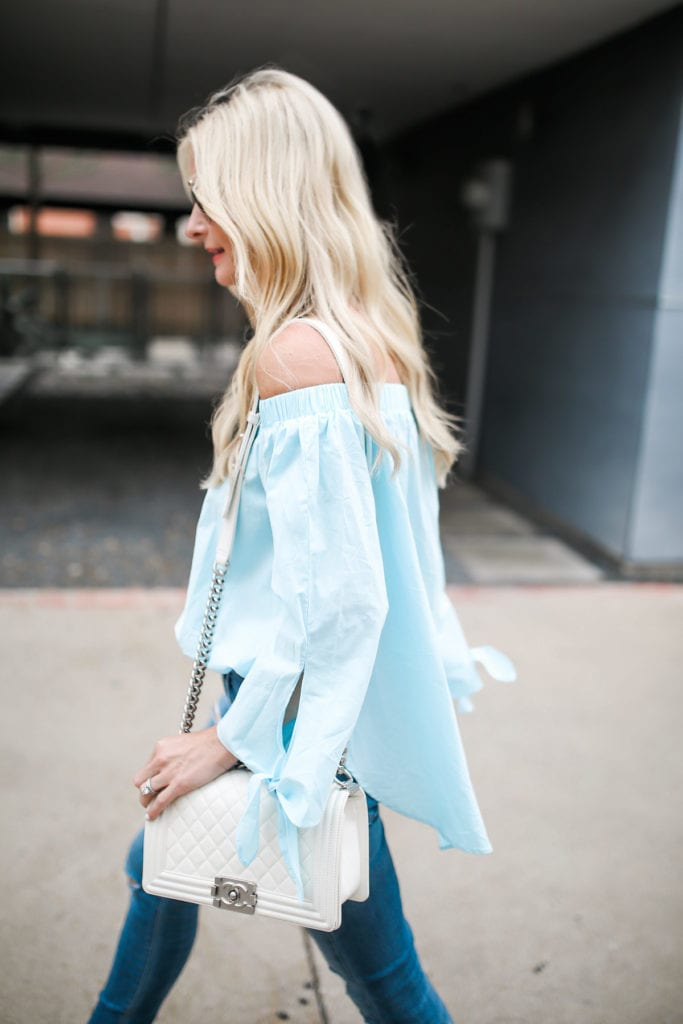 Shein Off the Shoulder top 2