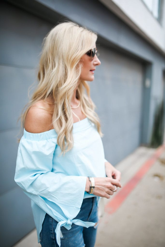 Shein Off the Shoulder top 6