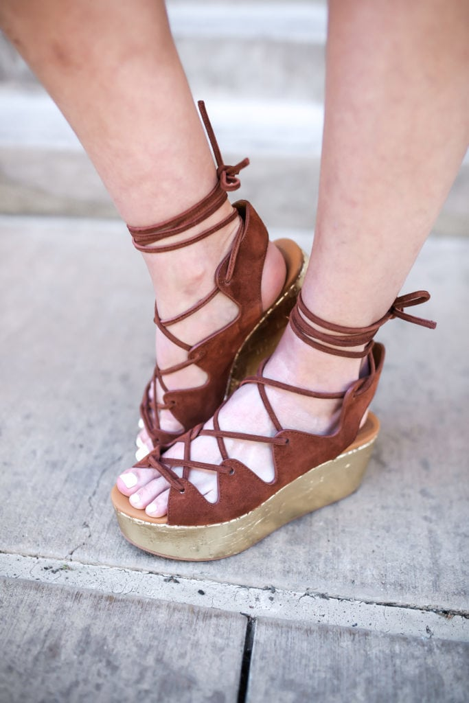 See by Chloe Lace Up Platforms