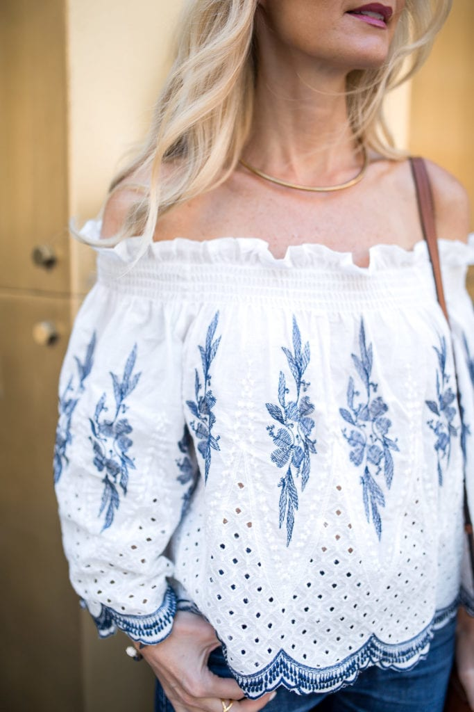 Pixie Market Off the Shoulder Top 4