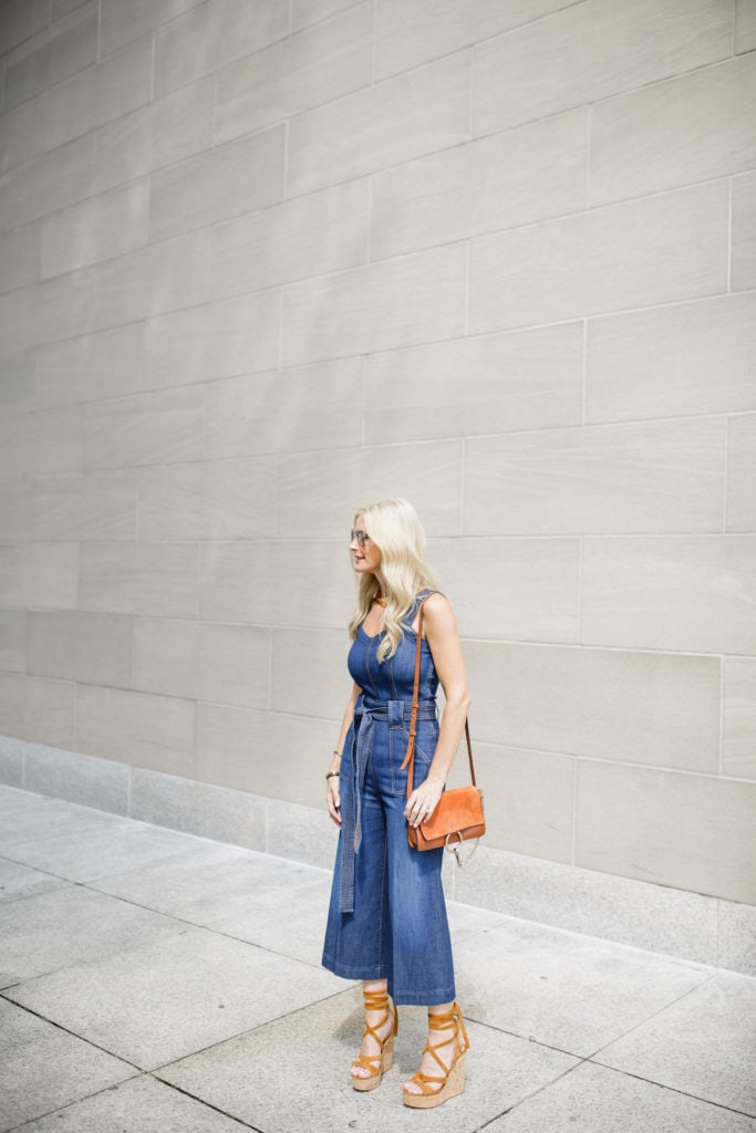 Seven Denim Jumpsuit, Dallas Fashion Blogger, Heather Anderson, Style Blogger