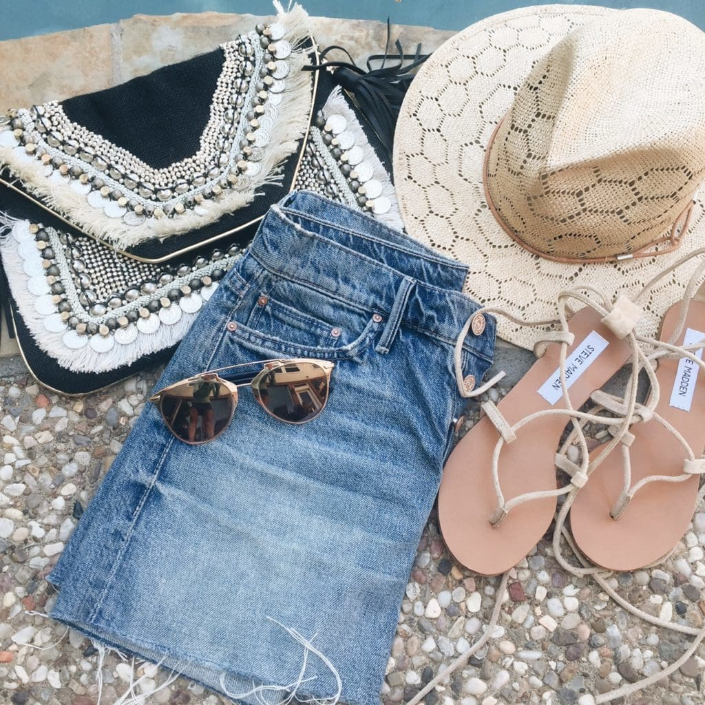 Dallas Fashion Blogger, Summer Shopping, Lace-Up Sandals, Trendy Fashion Blogger