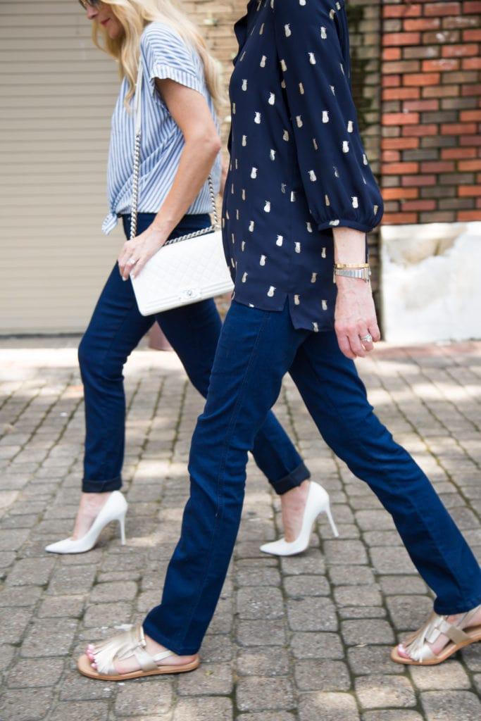 Madewell Striped Shirt, Heather Anderson, Dallas Fashion Blogger