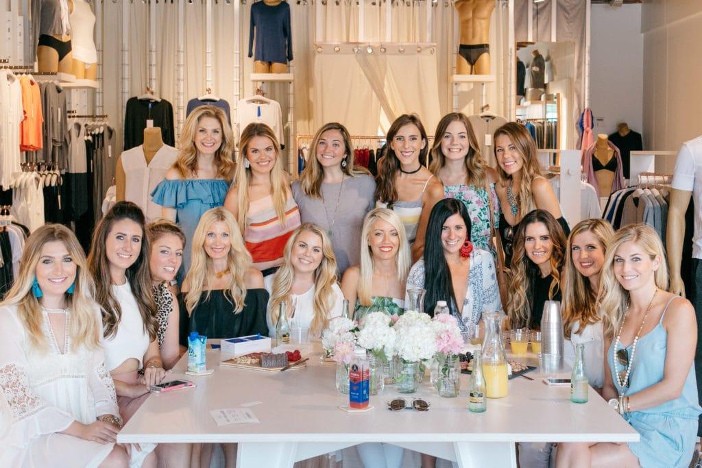 Dallas Fashion Blogger, Heather Anderson, Black Off the shoulder dress
