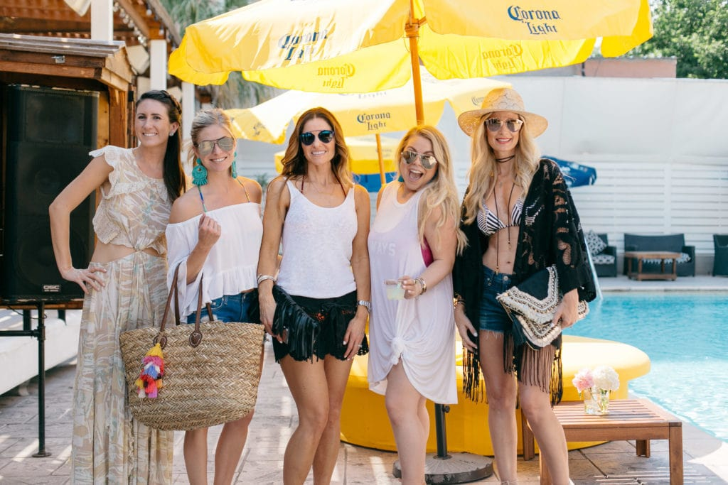 Dallas Fashion Blogger, Summer Pool Party, Heather Anderson