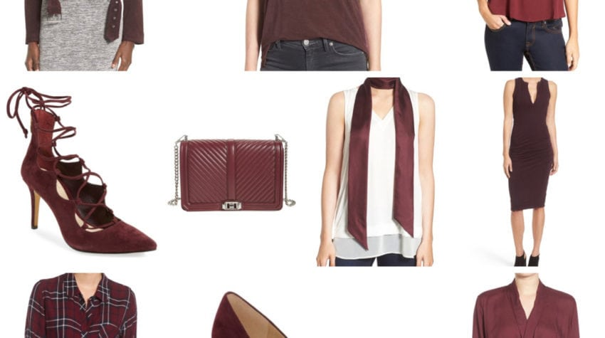 Oxblood Obsessions ALL PART OF THE NORDSTROM SALE