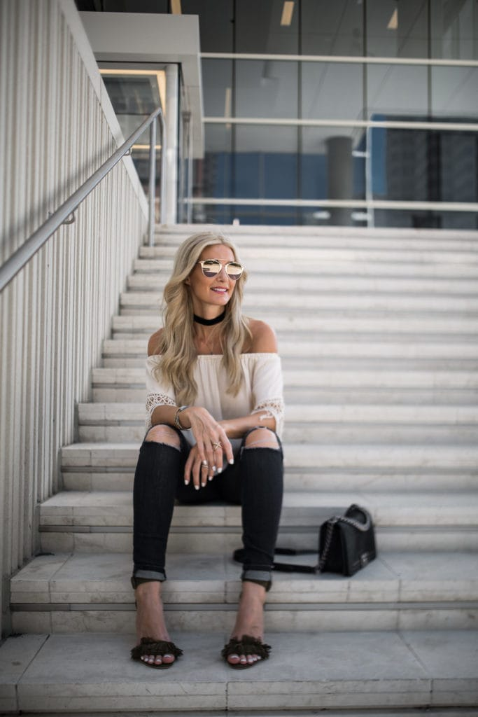 Heather Anderson, Dallas Fashion Blogger, Chanel Boybag