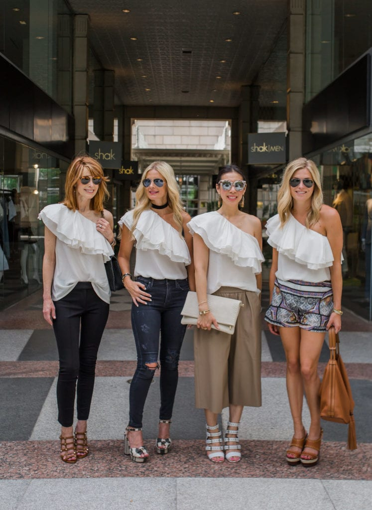 One Shoulder Top, Chic at Every Age, Dallas Style Blogger