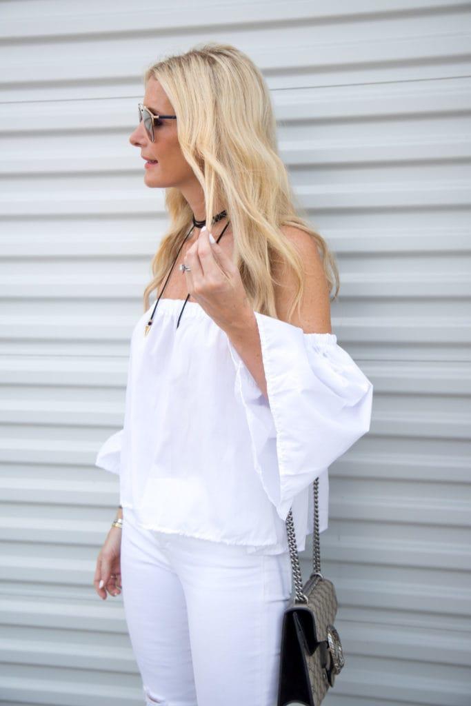 Black Choker, Heather Anderson, Dallas Style Blogger